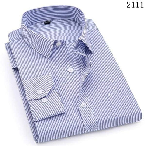 Business Casual Long Sleeved Classic Male Social Dress Shirts - Moolokai Apparel