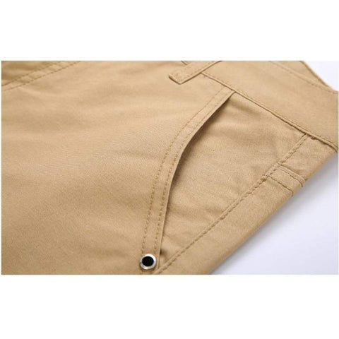 Cotton Slim Casual Leisure Straight Trousers Business Solid Long Leg Pencil Pantalon Pants