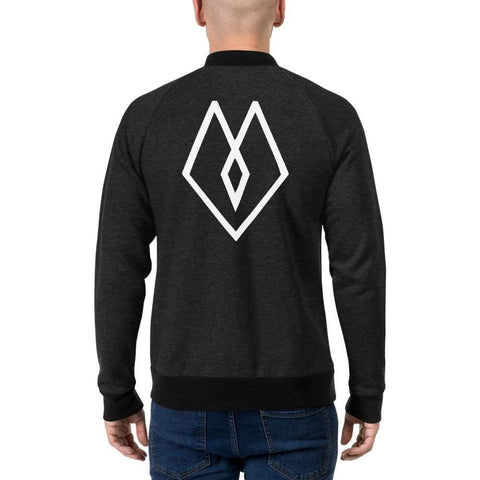 Moolokai Apparel Bomber Jacket-Custom-Moolokai Apparel-Heather Black-S-Moolokai Apparel