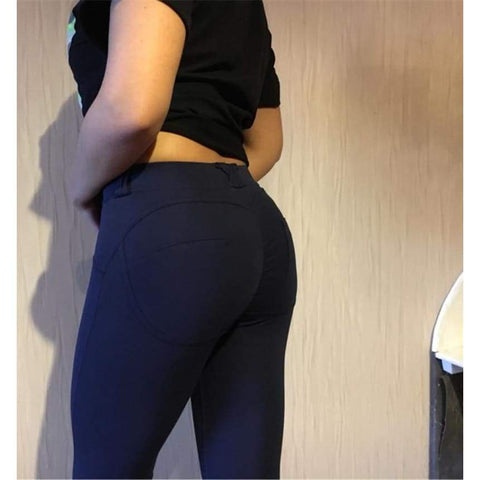 Low Waist Sexy Hip Push Up Gothic Jeggings Casual Workout Fitness Feminina Leggings