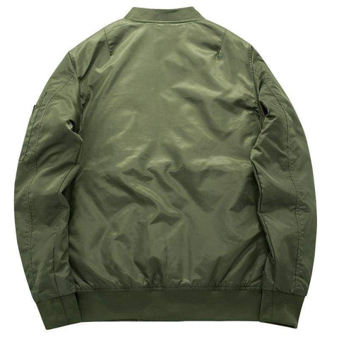 Ma1 Thick and thin Army Green Military motorcycle aviator pilot Air men bomber jacket