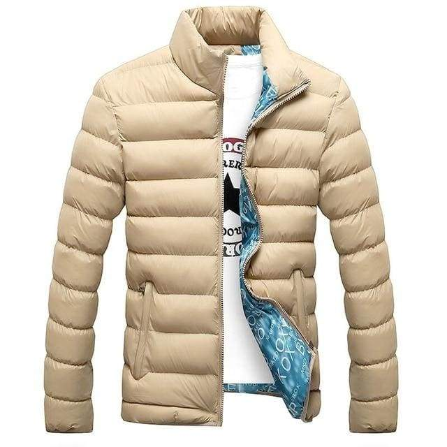 Parka Men Autumn Winter Warm Outwear Slim Mens Casual Windbreak Jacket - Moolokai Apparel