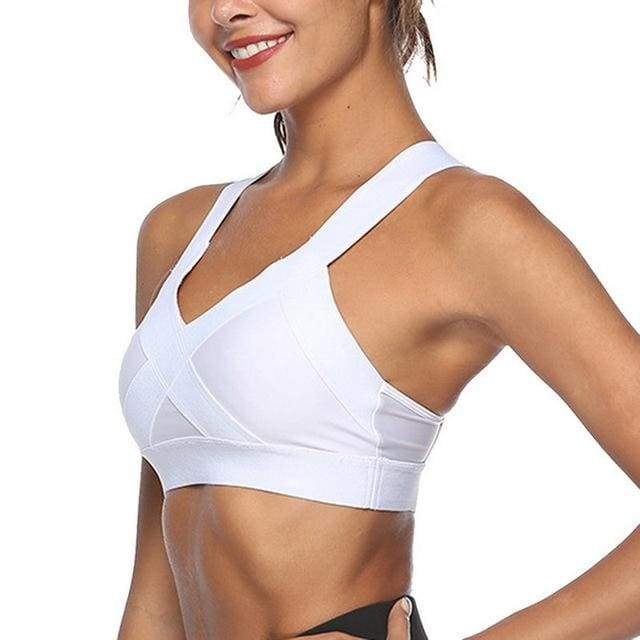 Sexy Mesh Sports Brathable Push Up Yop Female Gym Fitness Sports Sexy Mesh Female Yoga Underwear Bra - Moolokai Apparel