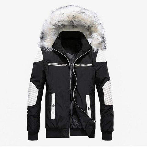 Slim Down Hooded Casual Winter Male Outwear Warm Parkas Winter Jacket / jackets men winter