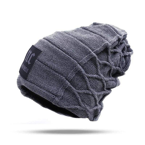 Stylish Skullies Winter Thick Warm Beanies Cap / hats men winter
