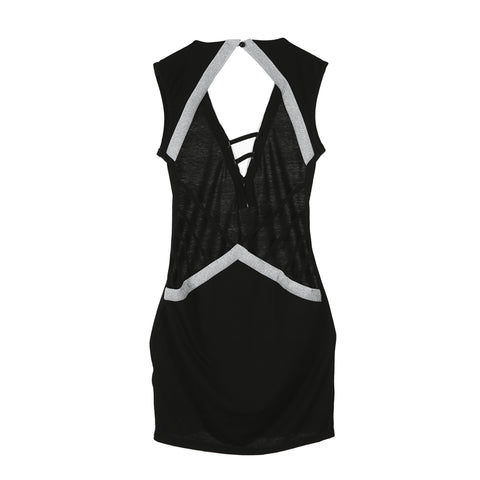 Women Sleeveless Backless Party Cocktail Club Short Mini Dress