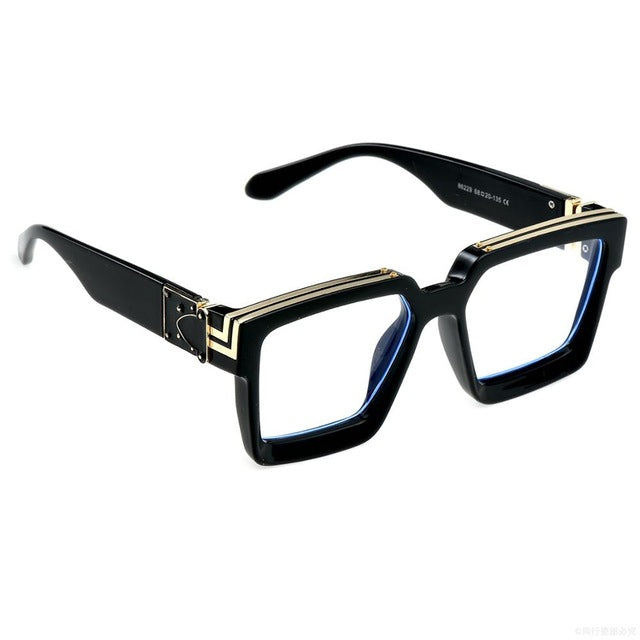 Square Luxury Mens UV400 Hollywood Glasses - Moolokai Apparel