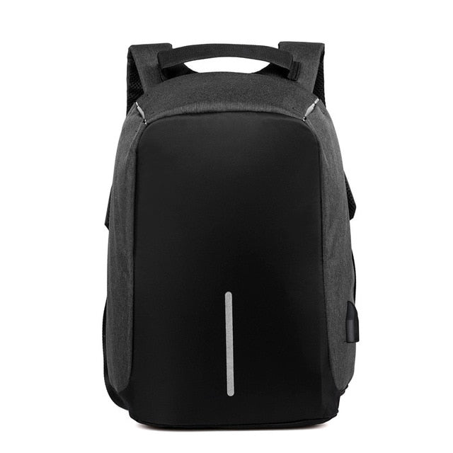 Anti-theft Laptop Rucksack Travel Bag Large Capacity Business USB Charge Shoulder Backpack - Moolokai Apparel