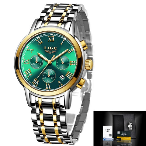 Women Watches Ladies Top Brand Luxury Creative Steel Women Bracelet Watches Female Quartz Waterproof Watch
