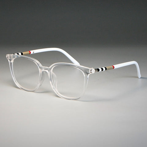 Anti Blue TR90 Cat Eye Luxury Glasses Frames Men Women Trending Styles UV400 Optical Fashion Computer Glasses