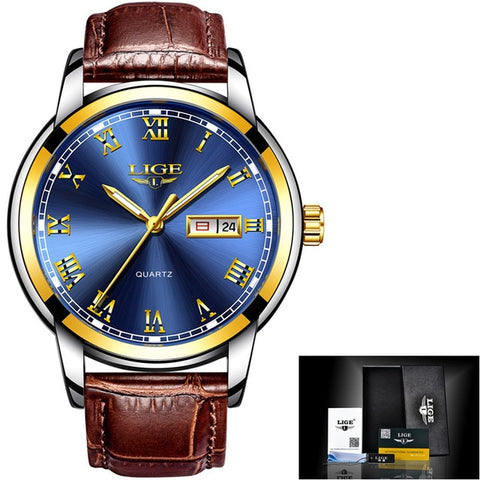 Top Luxury Brand Men Sports Watch Male Casual Full steel Date Wristwatches Men's Quartz watches relogio masculino