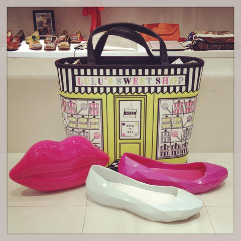 Lulu Guinness and United Nude Lo Res Lo