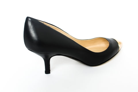 Fabio Rusconi - Prost Black Leather Heels