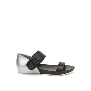 United Nude Apollo Lo Metallic Silver Black