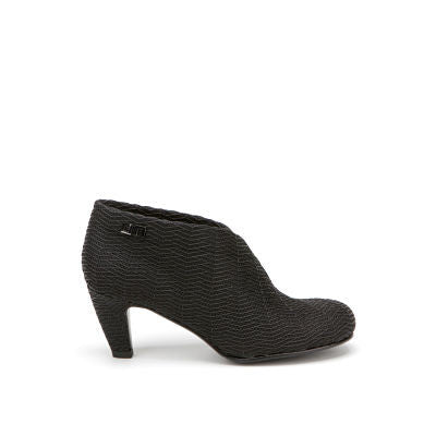 United Nude Fold Mid Black Riz Boot