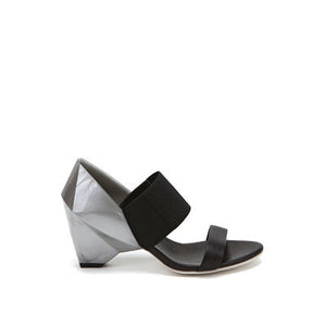 United Nude Lo Res Sandal Metallic Grey