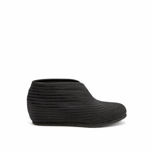 United Nude Fold Lo Black Rib Elastic Boot