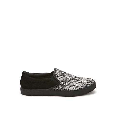 United Nude Slip On Black on Pistacchio Riz