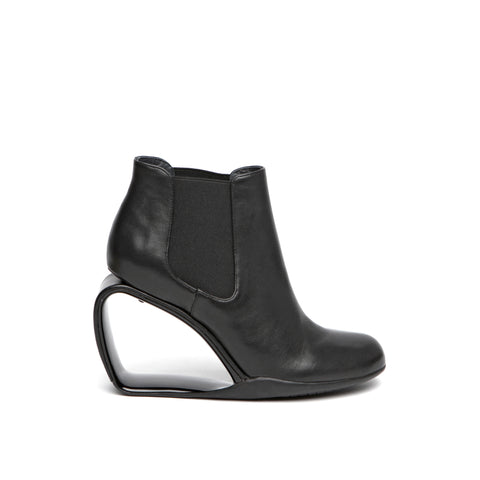 United Nude Step Mobius Chelsea Black Nappa