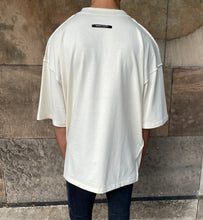 Load image into Gallery viewer, Cream Reverse Heavyweight T-Shirt.