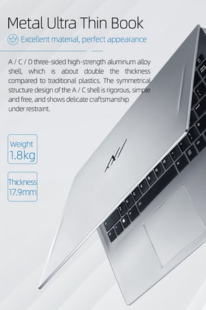 Machcreator-L 15.6 inch intel Laptop Core I5 10210U Win10 MX350 16G 512SSD 1920*1080 IPS Laptops with Backlit Keyboard