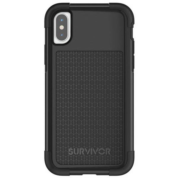 Griffin Survivor Fit Apple iPhone X/XS Black TA43858 - ReparatieCenter.nl