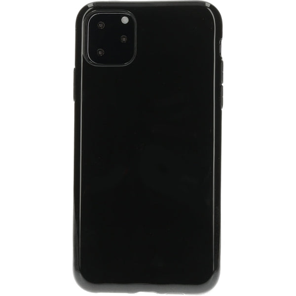 Mobicase TPU Apple iPhone 11 Pro Max Back Cover - Zwart - ReparatieCenter.nl