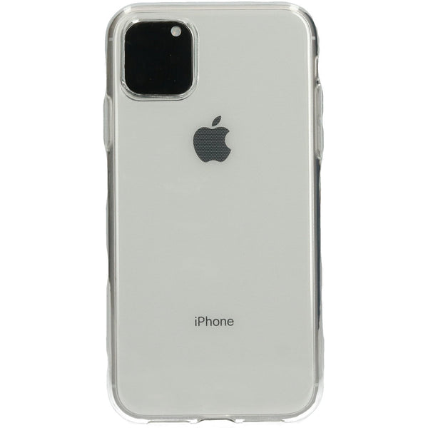 Mobicase TPU Case iPhone 11 Pro - Transparant - ReparatieCenter.nl