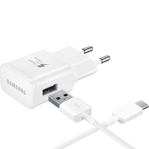 Samsung Adaptive Fast Charger + USB-C Kabel Wit - ReparatieCenter.nl
