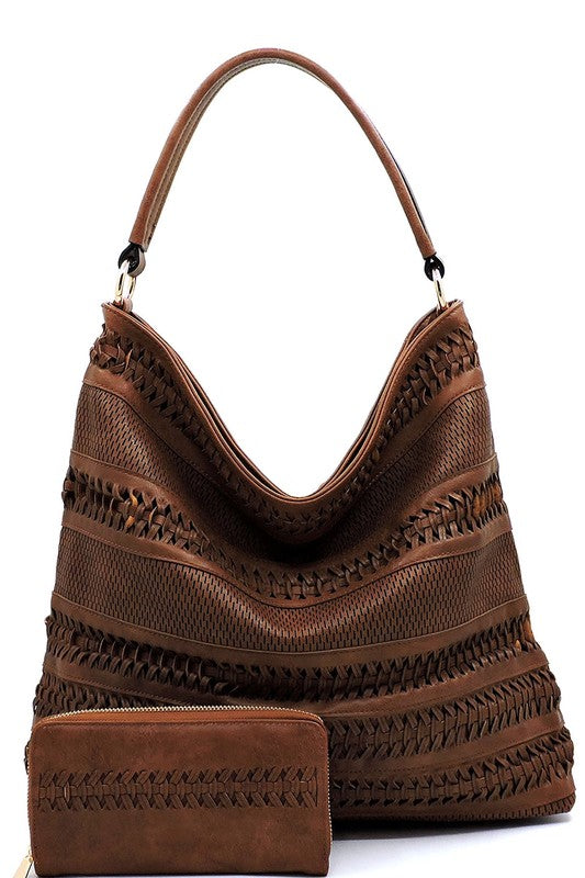 Holly Shoulder Bag Brown - BOMSHELL BOUTIQUE