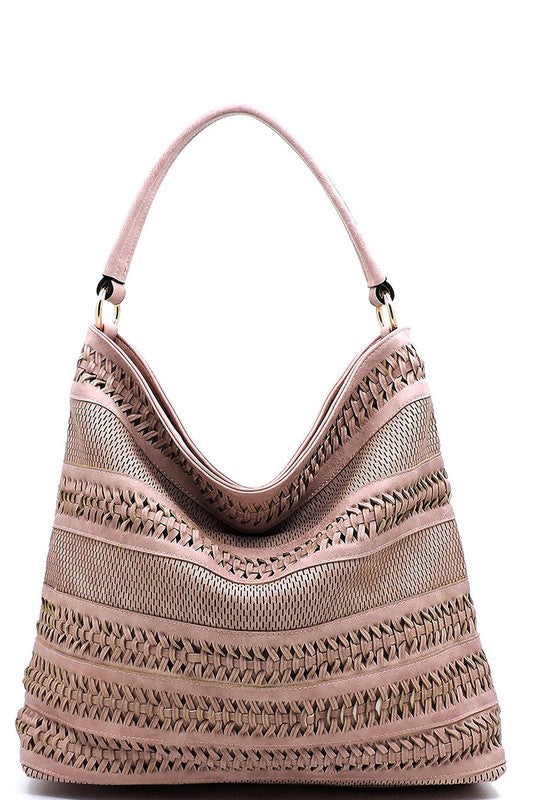 Holly Shoulder Bag Blush - BOMSHELL BOUTIQUE