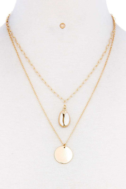 Shell Layered Necklace