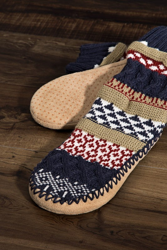 Cozy Up Slippers - Navy