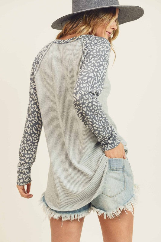 Natural Instincts Leopard Top - Preorder