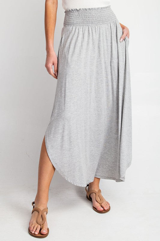 London Love Skirt-Grey