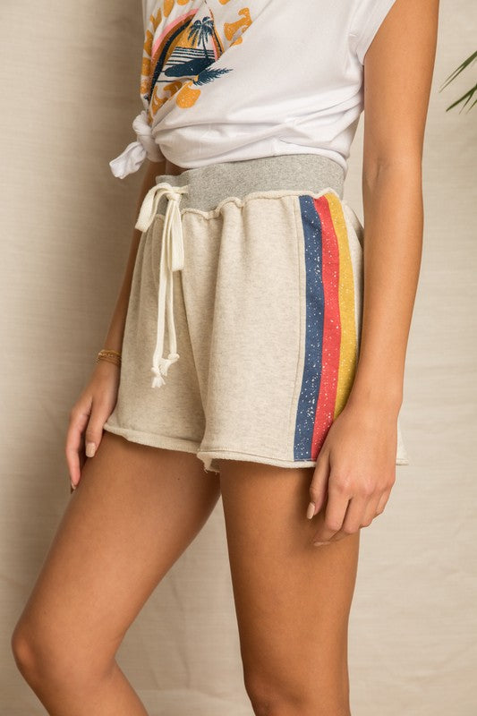 Good Vibes Shorts - BOMSHELL BOUTIQUE
