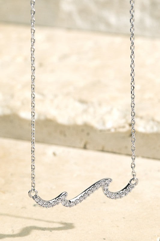 Chasing Waves Necklace - Other Colors