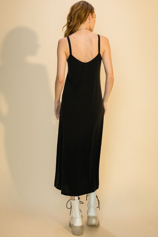 Mia Maxi Dress- Black