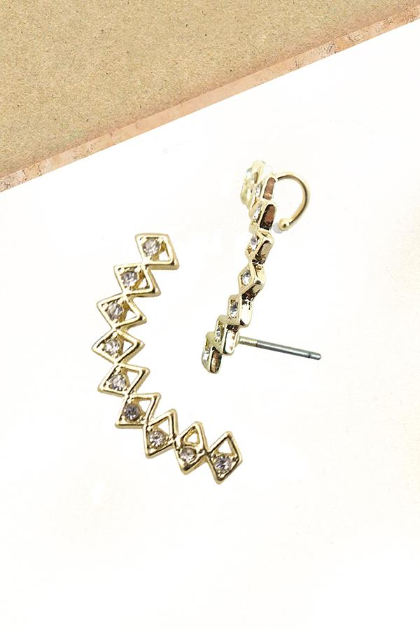 Triangle Cuff Earring