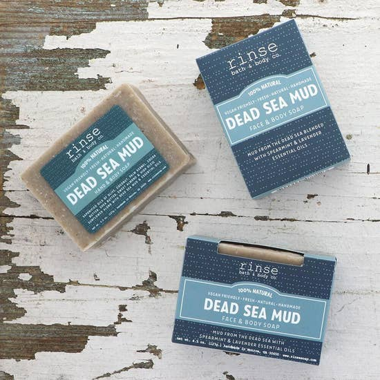 Soap - Dead Sea Mud - BOMSHELL BOUTIQUE