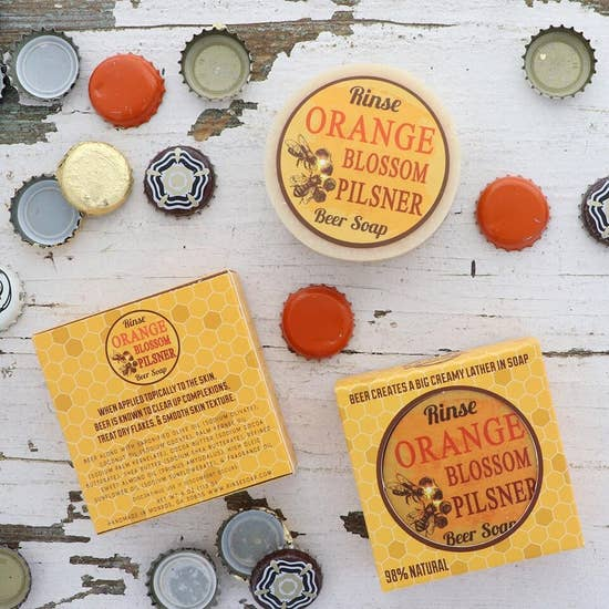 Beer Soap-Orange Blossom - BOMSHELL BOUTIQUE