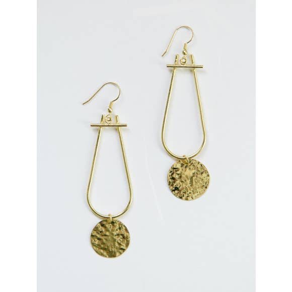 Sun Drop Gold Earrings - BOMSHELL BOUTIQUE