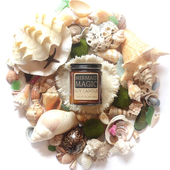 Mermaid Magic Soy Candle by The Burlap Bag