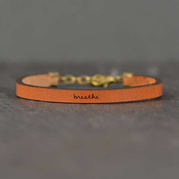 Breathe Leather Bracelet - BOMSHELL BOUTIQUE