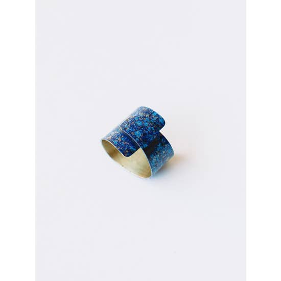 Wrap Blue Ring - BOMSHELL BOUTIQUE