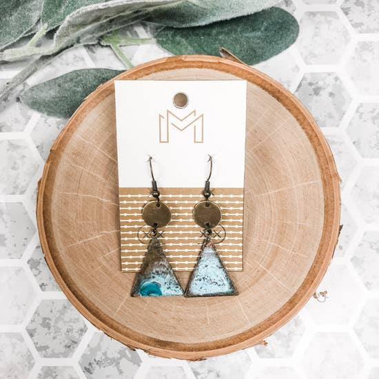Tara Copper Earrings