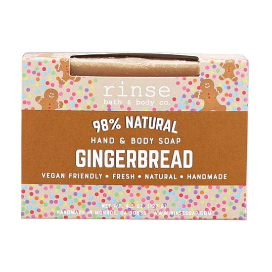 Holiday Soap - Gingerbread