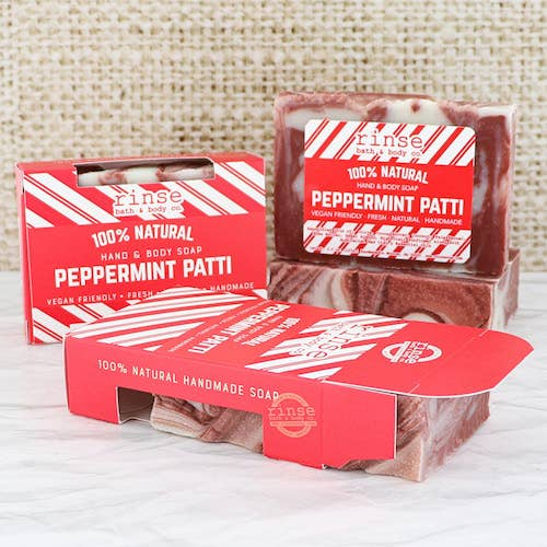 Holiday Soap - Peppermint Patti - BOMSHELL BOUTIQUE