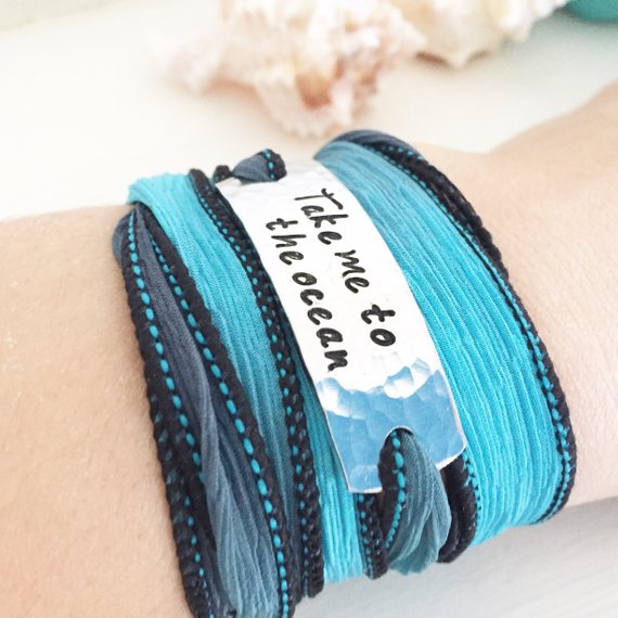 Take Me To The Ocean Wrap Bracelet
