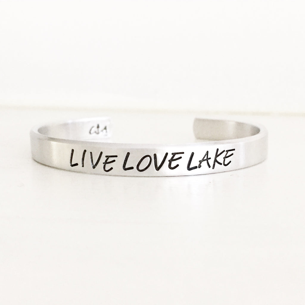 Live Love Lake Cuff - BOMSHELL BOUTIQUE